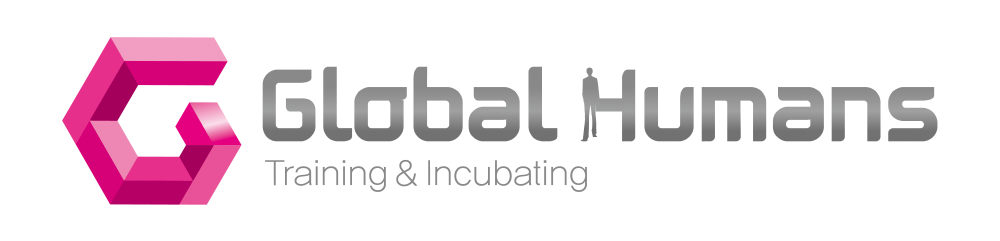 LF의 계열사 (주)글로벌휴먼스의 로고