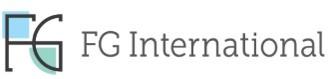 (주)에프지인터네셔널의 기업로고