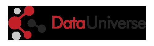 (주)데이터유니버스의 기업로고