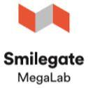 스마일게이트홀딩스의 계열사 (주)스마일게이트메가랩의 로고
