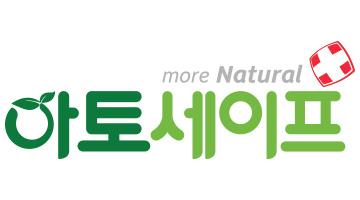 본느의 계열사 (주)아토세이프의 로고