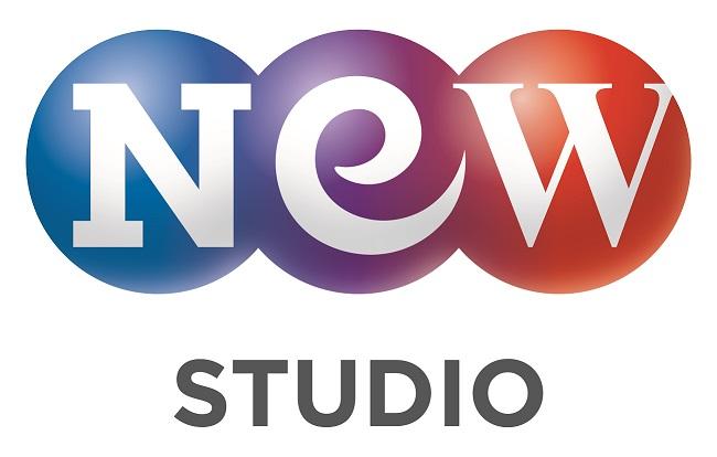 넥스트엔터테인먼트월드의 계열사 (주)스튜디오앤뉴의 로고
