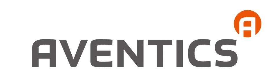 한국에머슨의 계열사 (주)아벤틱스의 로고