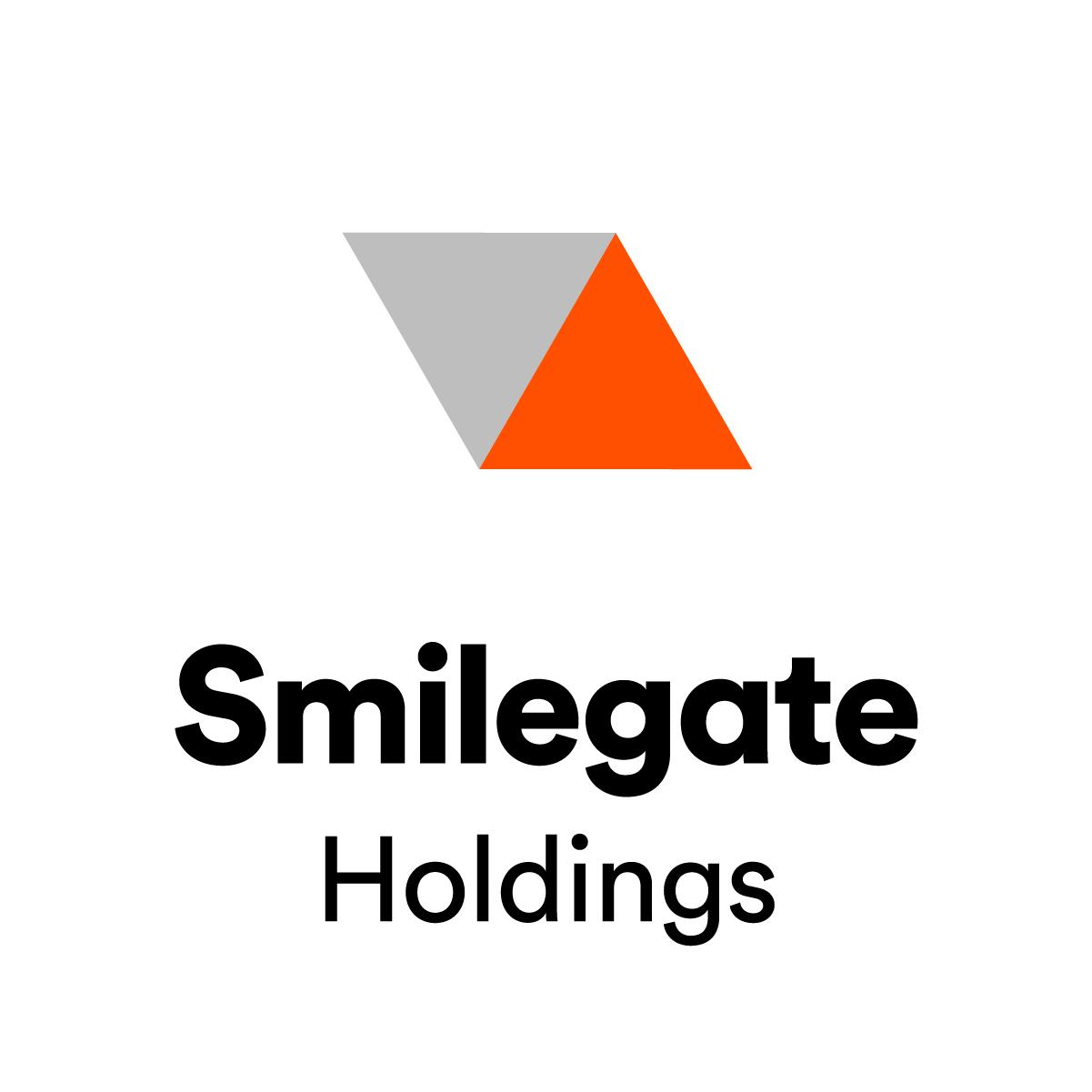 스마일게이트홀딩스의 계열사 (주)스마일게이트홀딩스의 로고