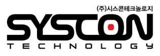 (주)시스콘테크놀로지의 기업로고