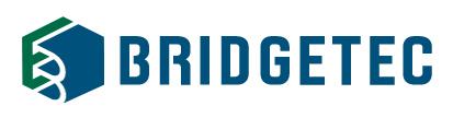 (주)브리지텍의 기업로고