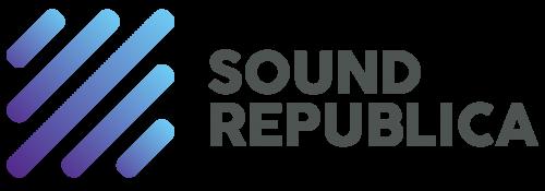 (주)사운드리퍼블리카의 기업로고