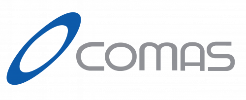 메타넷글로벌의 계열사 (주)코마스의 로고