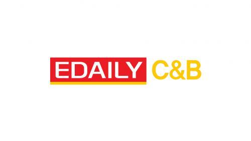 KG의 계열사 (주)이데일리씨앤비의 로고