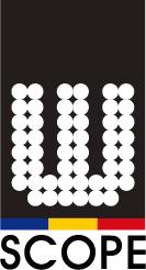 더블유스코프코리아의 계열사 더블유씨피(주)의 로고