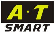 인지컨트롤스의 계열사 에이티스마트(주)의 로고
