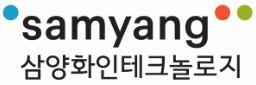 삼양의 계열사 삼양화인테크놀로지(주)의 로고