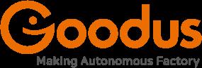 에스넷시스템의 계열사 굿어스스마트솔루션(주)의 로고