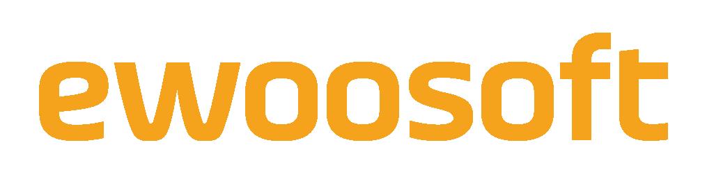 바텍이우홀딩스의 계열사 (주)이우소프트의 로고