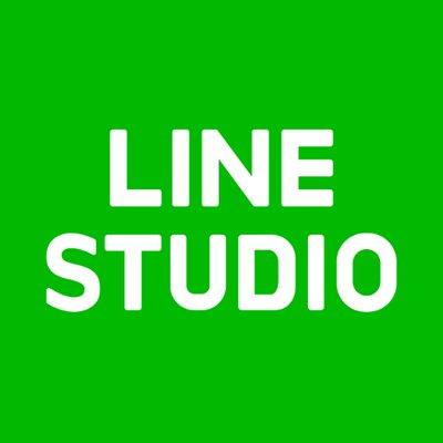 네이버의 계열사 라인스튜디오(주)의 로고