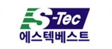 에스텍의 계열사 (주)에스텍베스트의 로고