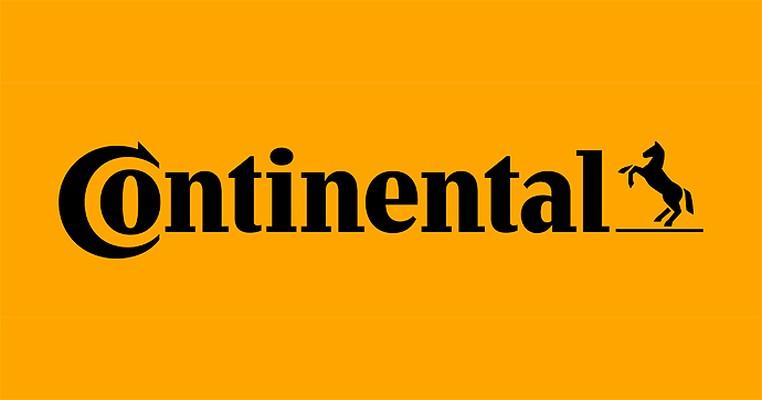 비테스코테크놀로지스코리아의 계열사 콘티넨탈오토모티브일렉트로닉스(유)의 로고