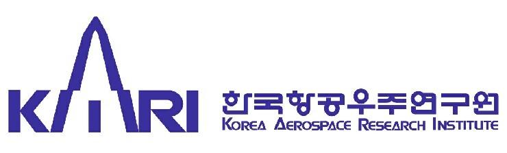 과학기술정보통신부의 계열사 (재)한국항공우주연구원의 로고