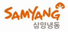 삼양식품의 계열사 삼양냉동(주)의 로고