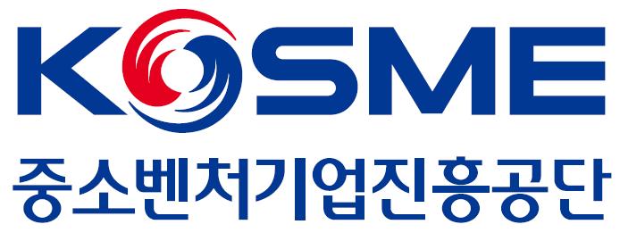 중소벤처기업부의 계열사 중소벤처기업진흥공단의 로고