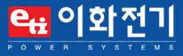 이화전기공업의 계열사 이화전기공업(주)의 로고