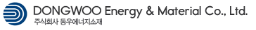 (주)동우에너지소재의 기업로고