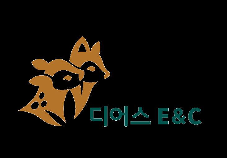 노루의 계열사 (주)디어스이앤씨의 로고