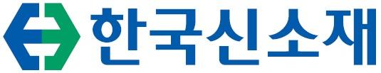 한국카본의 계열사 (주)한국신소재의 로고