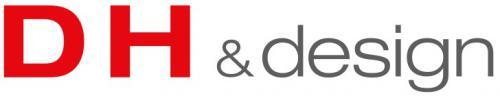 (주)디에이치앤디자인의 기업로고