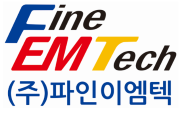 파인디앤씨의 계열사 (주)이엠비의 로고