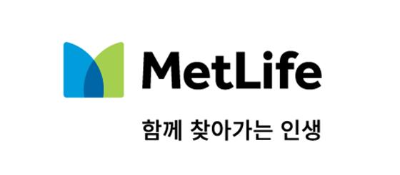 메트라이프생명보험(주)의 기업로고