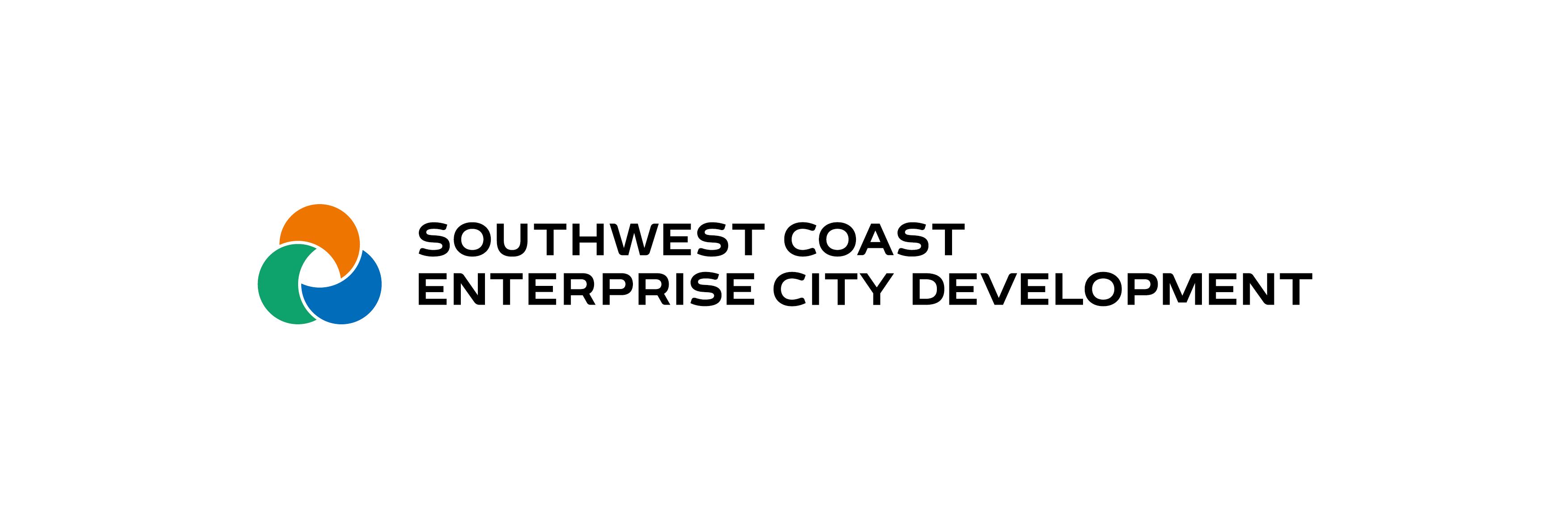 로하스리빙의 계열사 서남해안기업도시개발(주)의 로고
