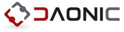 제이준코스메틱의 계열사 (주)다오닉의 로고
