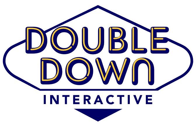 더블유게임즈의 계열사 (주)더블다운인터액티브의 로고