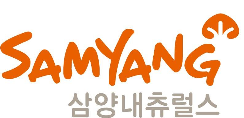 삼양식품의 계열사 삼양내츄럴스(주)의 로고