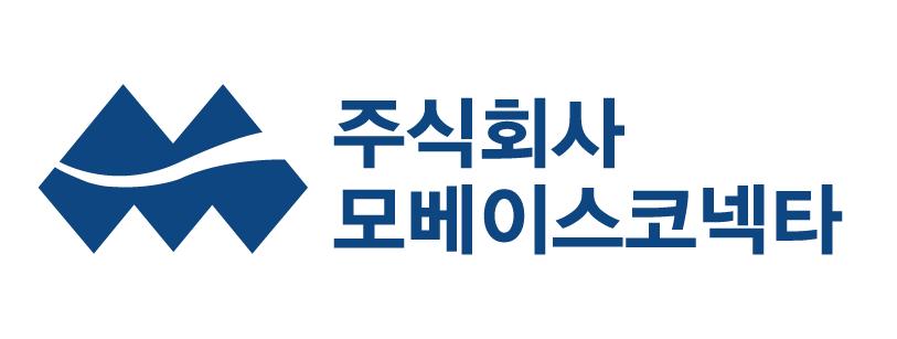 모베이스의 계열사 (주)모베이스코넥타의 로고