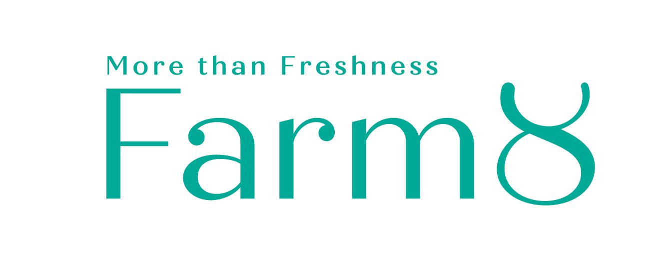 IMM인베스트먼트의 계열사 농업회사법인팜에이트(주)의 로고