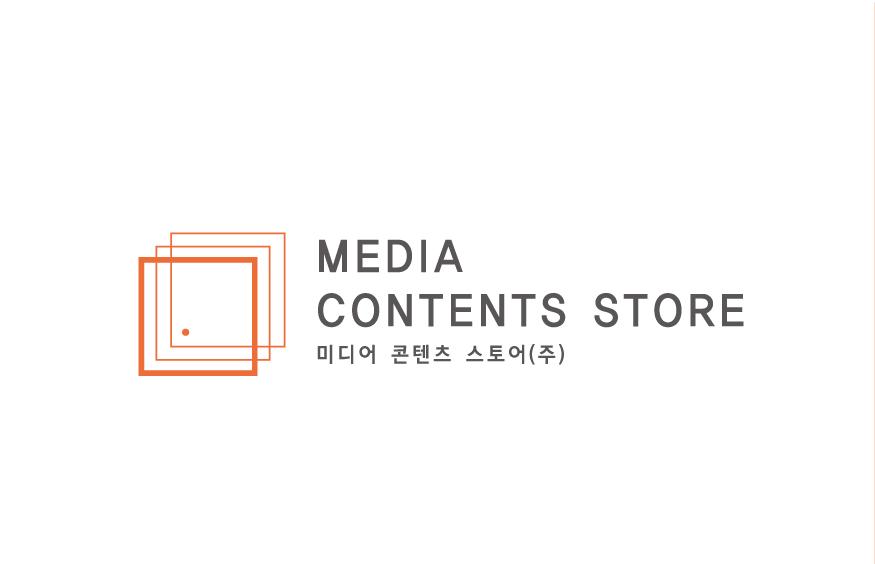 미디어콘텐츠스토어(주)의 기업로고