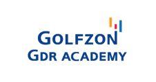 골프존뉴딘의 계열사 골프존지디알아카데미(주)의 로고