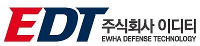 이화전기공업의 계열사 (주)이디티의 로고