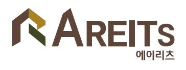 에이자기관리부동산투자회사(주)의 기업로고