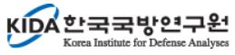 한국국방연구원의 기업로고