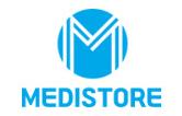 (주)메디스토어의 기업로고