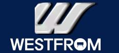 (주)웨스트프롬의 기업로고