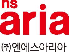 농심의 계열사 (주)엔에스아리아의 로고