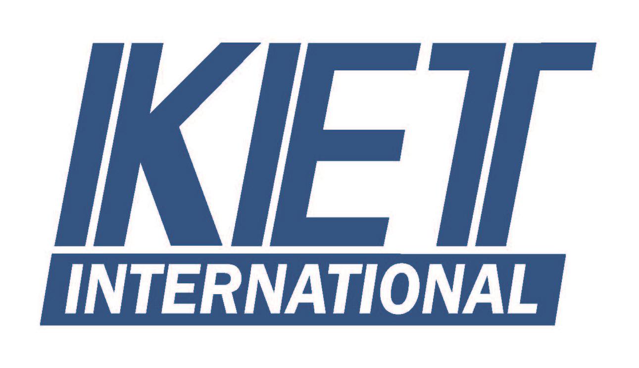한국단자공업의 계열사 (주)케.이.티.인터내쇼날의 로고