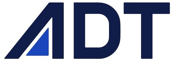 에이디티의 계열사 (주)에이디티의 로고