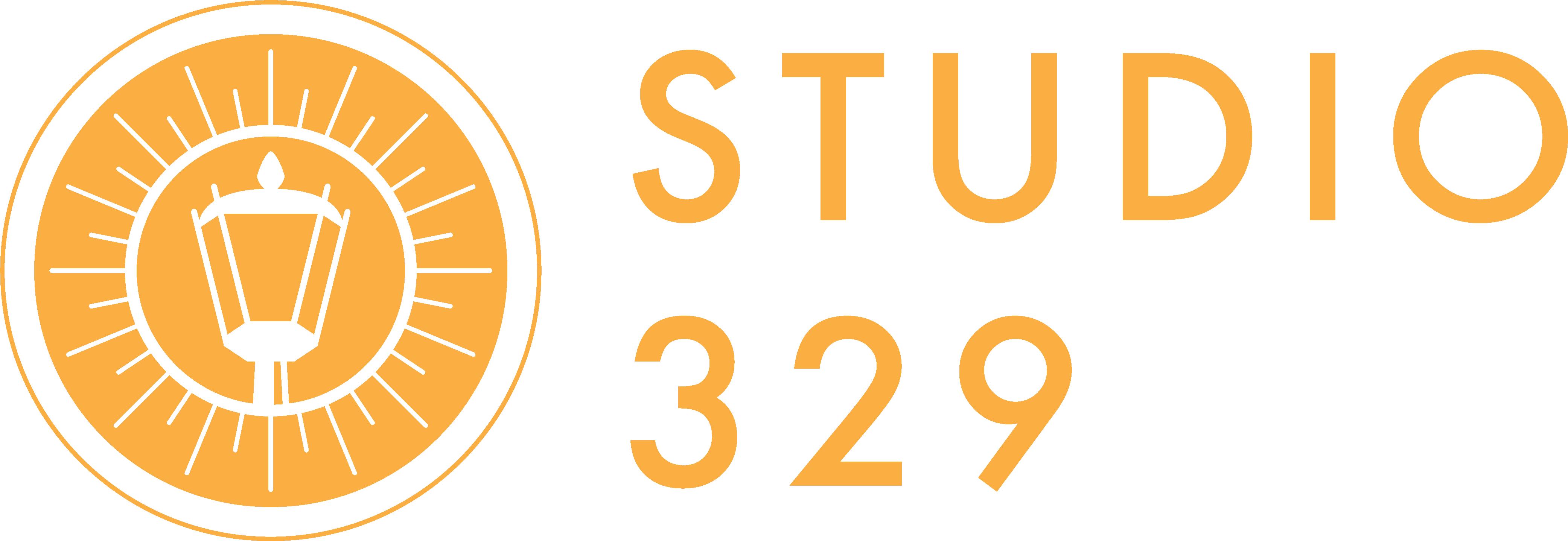 (주)스튜디오329의 기업로고