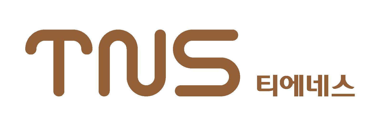 덴티스의 계열사 (주)티에네스의 로고