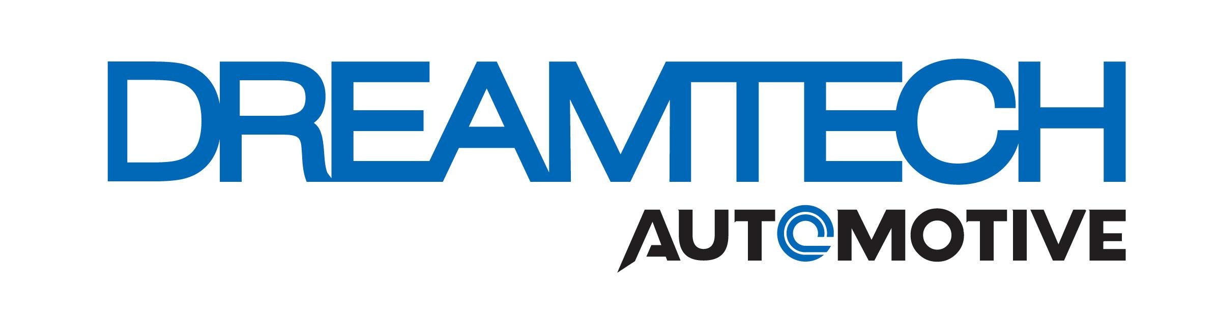 유니퀘스트의 계열사 (주)드림텍오토모티브의 로고